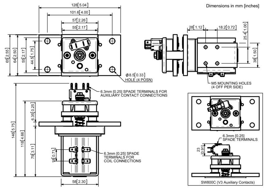 sw800直流接触器